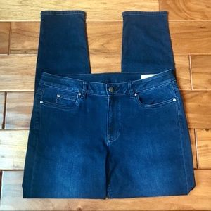 Two by Vince Camuto Dark Wash Skinny Jeans